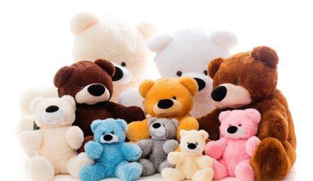 Чистка мягких детских игрушек