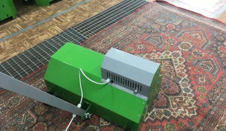 Как работает машина для выбивания пыли из ковров