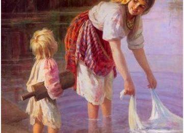 Как стирали белье наши бабушки?